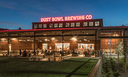 DAHLIN Wins AIASV Honor Award for Dust Bowl Brewery