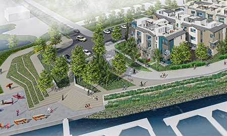Redwood City Approves Waterfront District Townhomes