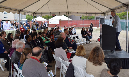 New Housing Breaks Ground in Downtown Redwood City