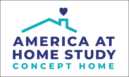 America at Home Study Concept Home