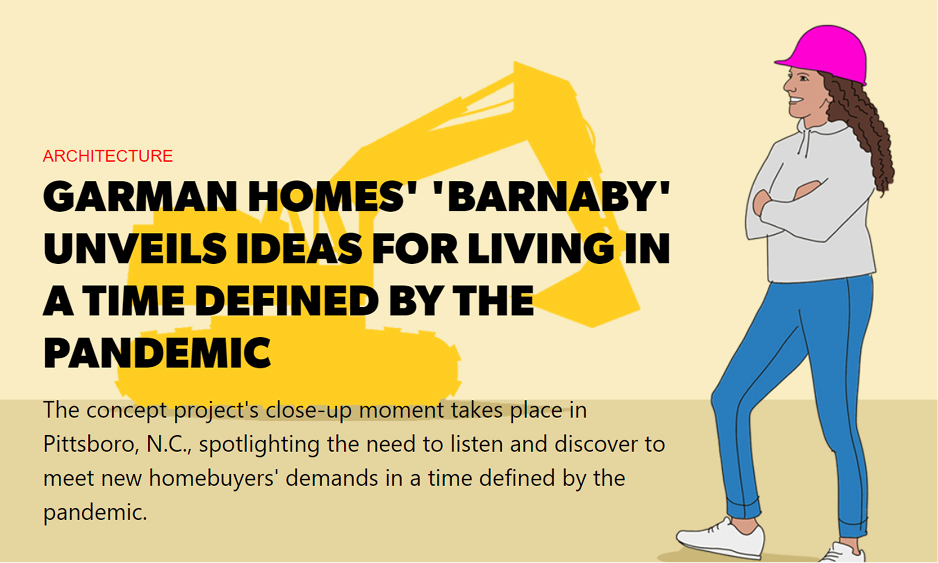 Garman Homes' 'Barnaby' Unveils Ideas for Living in Pandemic Times