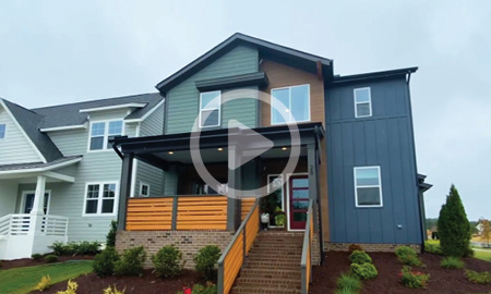 First Post-Pandemic Model Home Built in Pittsboro